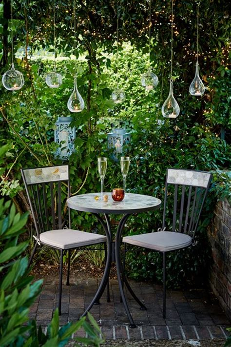 design ideas for small gardens creative lighting small garden ideas design