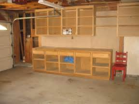 Garage Plans Designs image of garage workbench and storage
