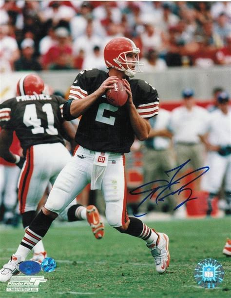 tim couch cleveland browns 17 best images about cleveland browns autographs sports