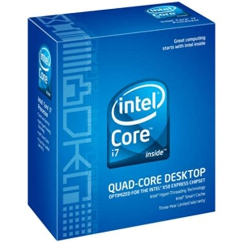 I7 920 Sockel by Intel I7 920 Processor Bx80601920 2 66ghz Lga 1366 4 8gt S Qpi 8mb L3 Cache