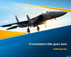 aviation powerpoint templates free aviation powerpoint template