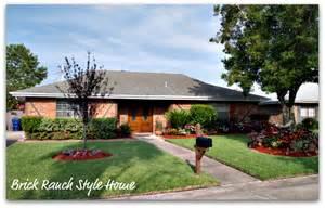 brick ranch home plans