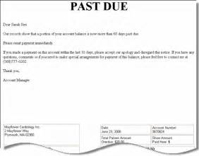 past due invoice letter template resume builder