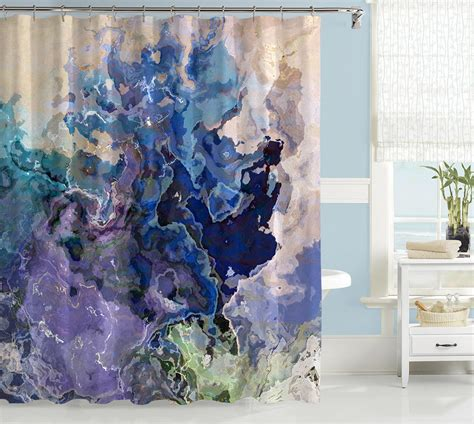 abstract shower curtains contemporary shower curtain abstract art bathroom decor