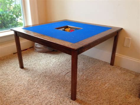 Kids Bedroom by Free Diy Lego Table Plans