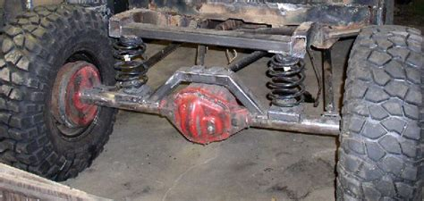 Converting Leaf Spring To Coil Springs On A Cj7 Pirate4x4com