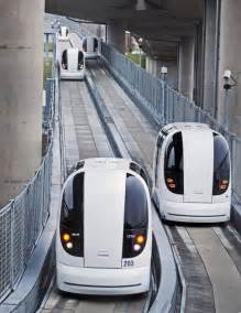 Electric Vehicles Personal Transportation For The Future Heathrow Airport Unveils Driverless Electric Car Transport