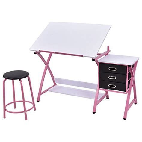 Drafting Table Tray New Expanding Tray Table Drafting Table Craft Drawing Desk Hobby Folding Adjustable W