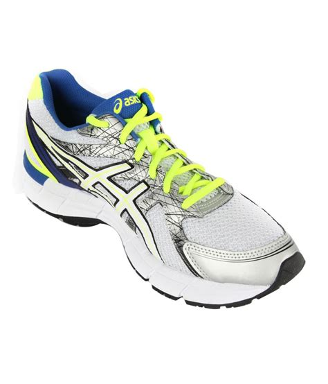 asics sports shoe asics white active sport shoes gel excite 2 price in