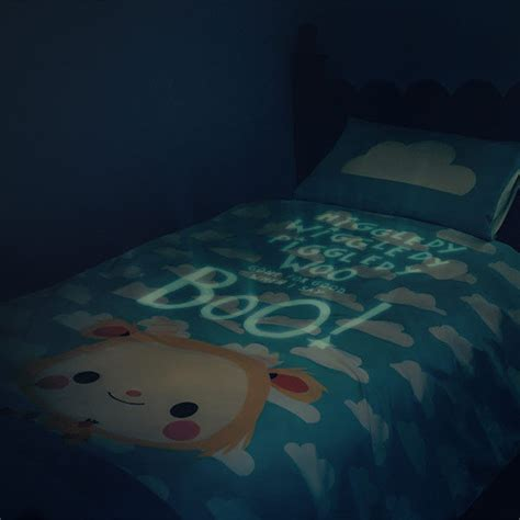 glow   dark bedding safety blankets