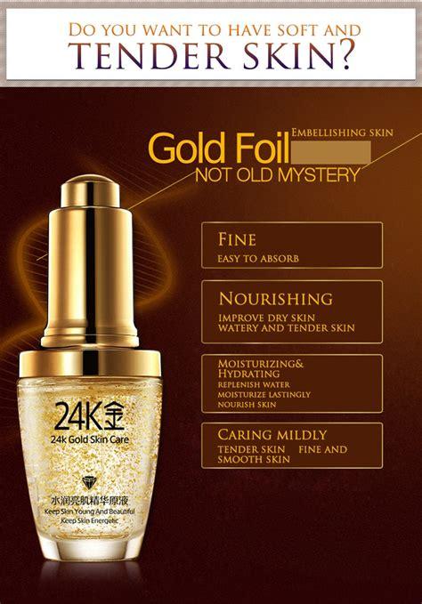Ready Walet Gold Anti Aging tripleclicks free shipping 30 ml bioaqua 24k gold skin care essence serum