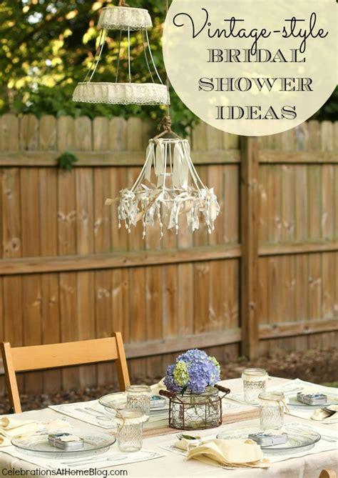 Vintage Bridal Shower Ideas by Vintage Style Bridal Shower Ideas Celebrations At Home