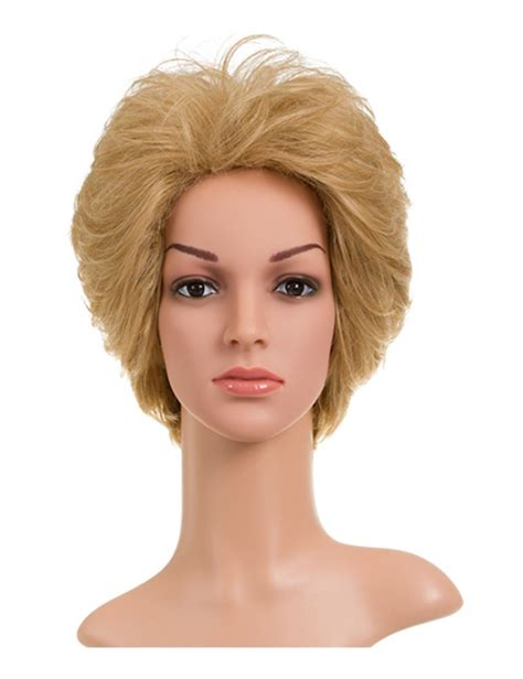 are wigs comfortable womens new soft quality synthetic short wig bangs