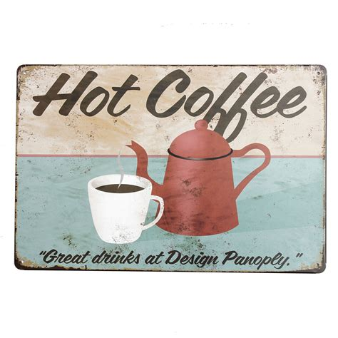 Poster One 13 20x30cm 20x30cm retro metal tin sign plaque food wall poster wall