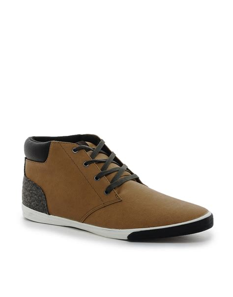aldo shoes mens boots aldo nereus chukka boots in brown for lyst