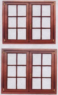 printable house windows minis printies structural elements on pinterest picasa