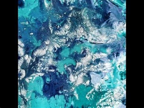marbling acrylic paint on canvas how to create marble texture using acrylic paint and water