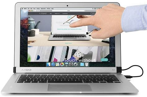 Macbook Air airbar accessory that gives 13 inch macbook air a touchscreen is now available mac rumors