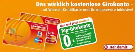 kreditkarte aus dem ausland ohne schufa norisbank girokonto er 246 ffnen 0 00 mit mastercard sehr