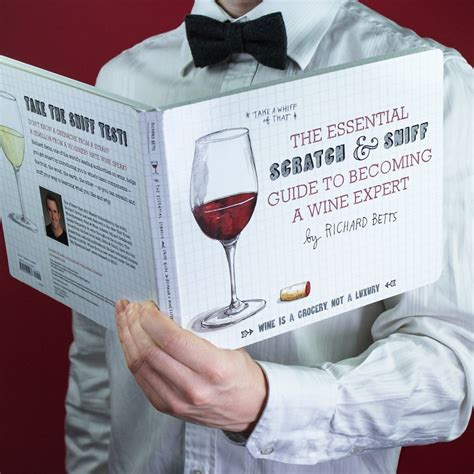 the scratch sniff guide to a lover s companion books the essential scratch and sniff guide to becoming a wine