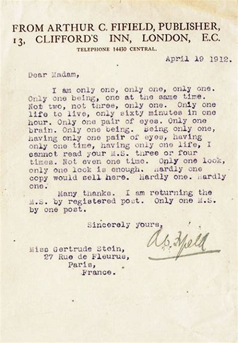 Rejection Letter Phrases Authors Harshest Rejection Letters Flavorwire