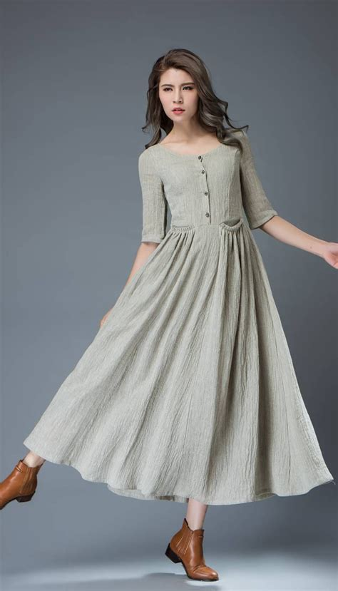 Simple Summer Dresses With Sleeves
