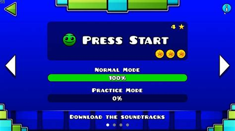 geometry dash full version all coins geometry dash subzero press start 100 complete all