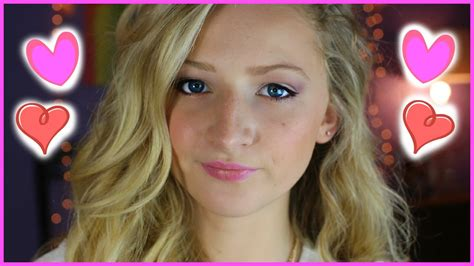 tutorial makeup young valentine s day makeup tutorial for teens 2015 youtube