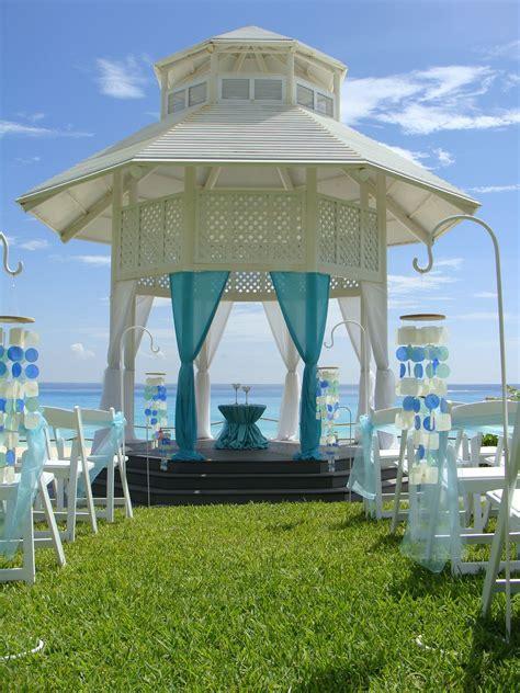 Paradisus Cancun Resort Wedding Gazebo Inspired Voyages