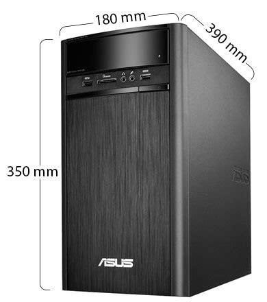Cpu Murah Asus K31am With J1800 souq asus k31am j desktop intel celeron j1800 500gb 2gb win 8 1 black uae