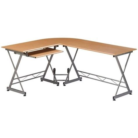 scrivania a l scrivania porta pc angolare a l in legno