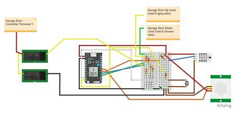 garage door light switch wiring diagram for garage door limit switchs wiring