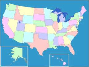 Interactive map of the united states united states map of states and