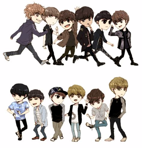 cute exo themes we love exo exo k m chibi