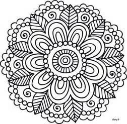 Coloriage 224 Imprimer Un Mandala Dory Fr Coloriages