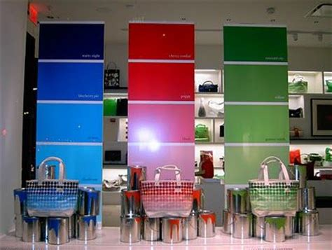 pantone color i and visual merchandising on