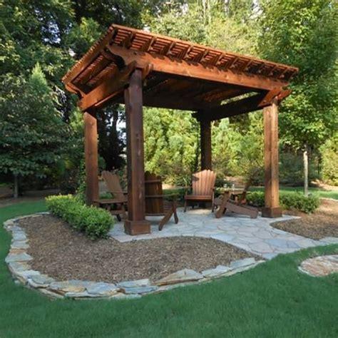 backyard ideas entertaining and gazebo on