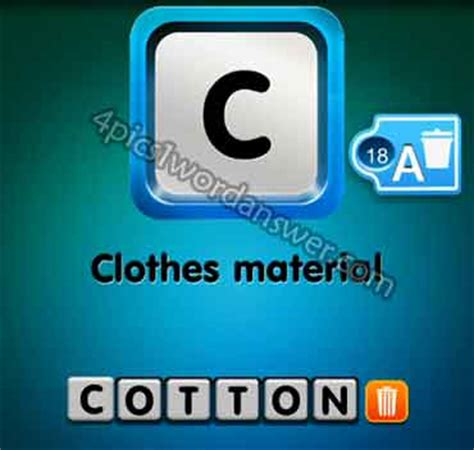 wordbrain themes clothes level 4 one clue clothes material answer 4 pics 1 word game