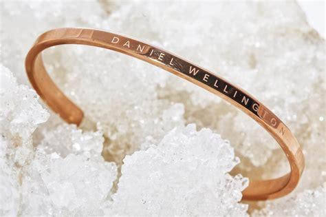 Daniel Wellington Rosegold daniel wellington cuff bracelet nymphashion fashion