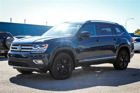 atlas volkswagen black 2018 volkswagen atlas highline w nav app connect backup