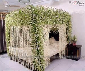 Wedding room bed decoration amp this bridal room help in wedding plannig