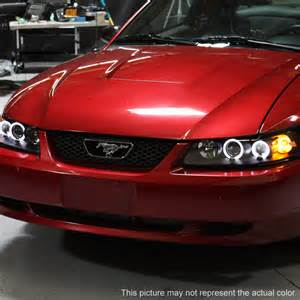 99 04 ford mustang 1 eye halo led projector
