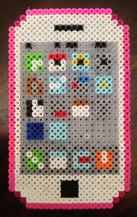 how to make out of perler iphone easy design perler perler
