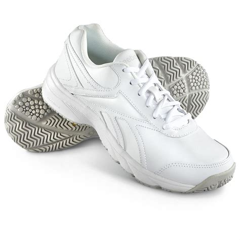 womens white athletic shoes s reebok reeshift running shoes white 612930