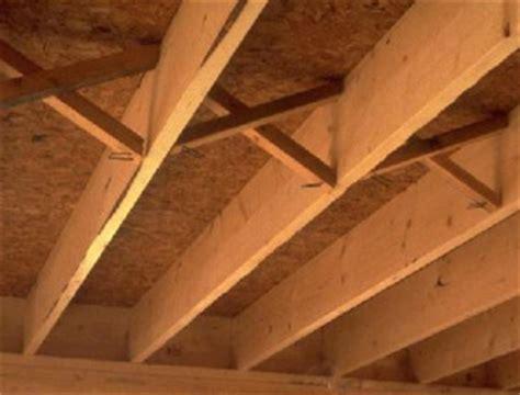 Bridging Between Floor Joists by Home Builder And Floor Construction