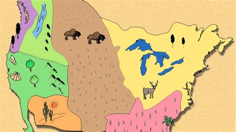 american tribe map by regions ap03 american indian cultural regions on vimeo