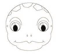 turtle mask template pin tortoise mask template on