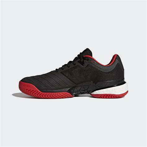 adidas mens barricade boost 2018 tennis shoes black tennisnuts
