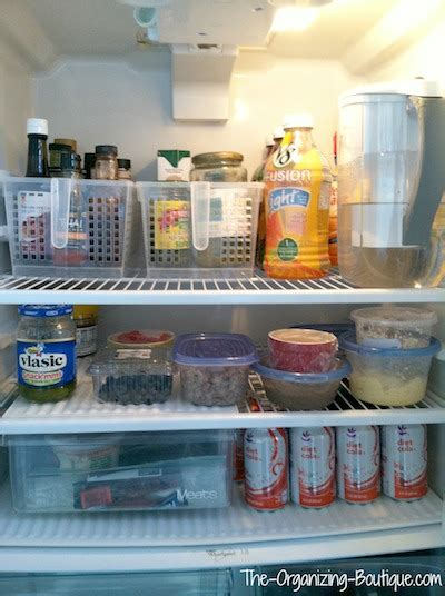 Ideas For Organizing Kitchen Fridge Storage Ideas Refrigerator Organizer