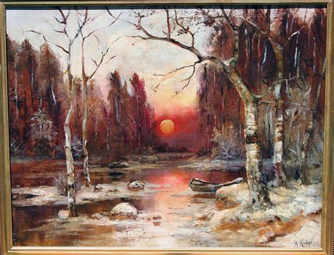 the russian canvas painting russian painting oil on canvas by klever